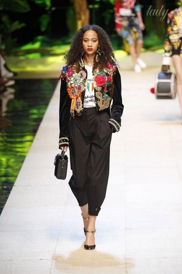Коллекция Dolce&Gabbana  прет-а-порте сезона весна-лето 2017_3