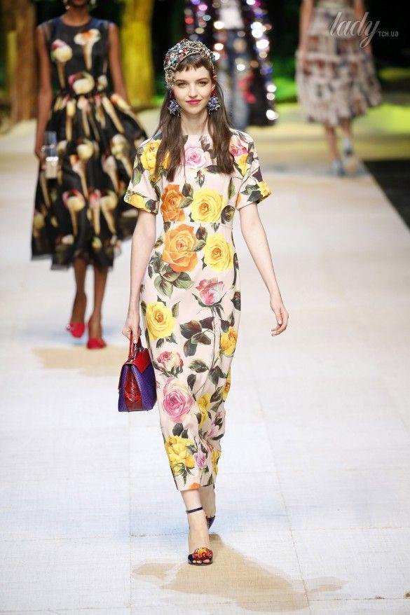 Коллекция Dolce&Gabbana  прет-а-порте сезона весна-лето 2017_23