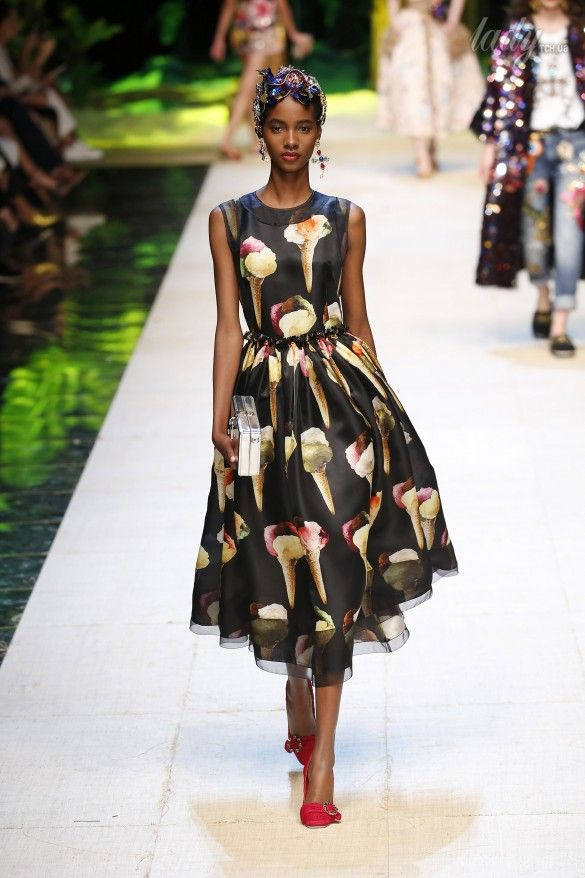 Коллекция Dolce&Gabbana  прет-а-порте сезона весна-лето 2017_24