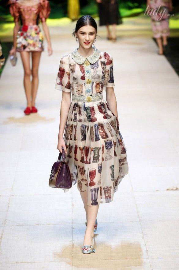 Коллекция Dolce&Gabbana  прет-а-порте сезона весна-лето 2017_20