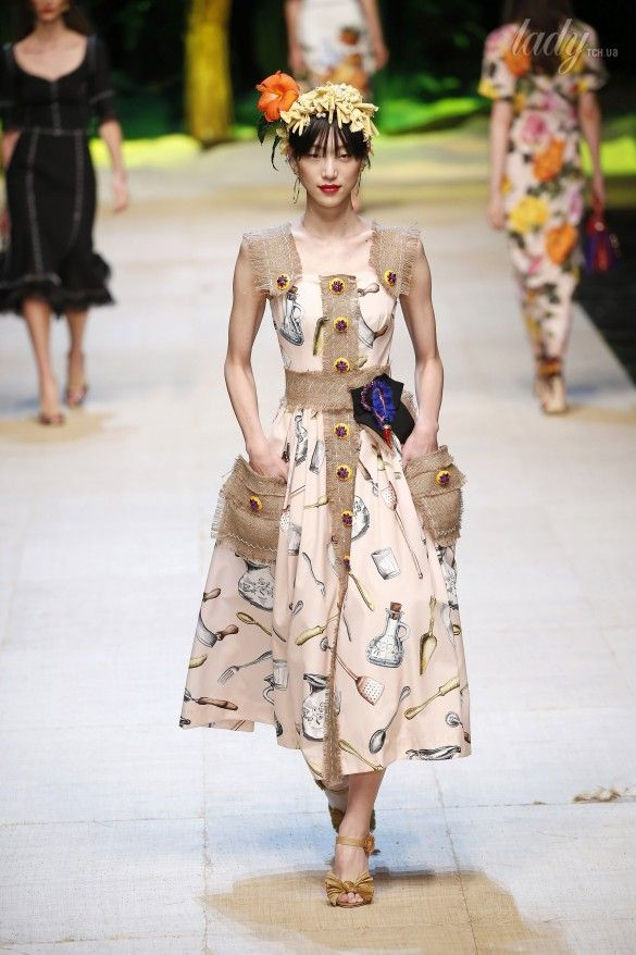 Коллекция Dolce&Gabbana  прет-а-порте сезона весна-лето 2017_26