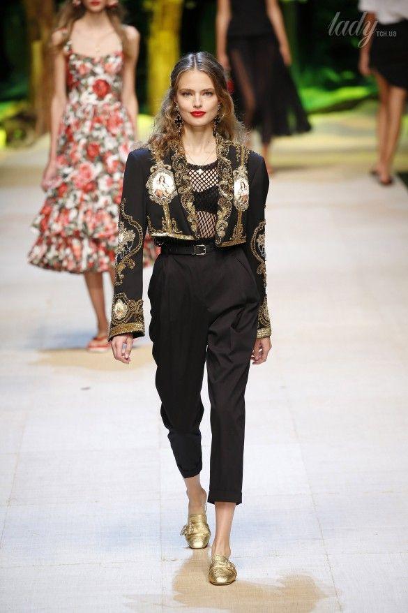 Коллекция Dolce&Gabbana  прет-а-порте сезона весна-лето 2017_53