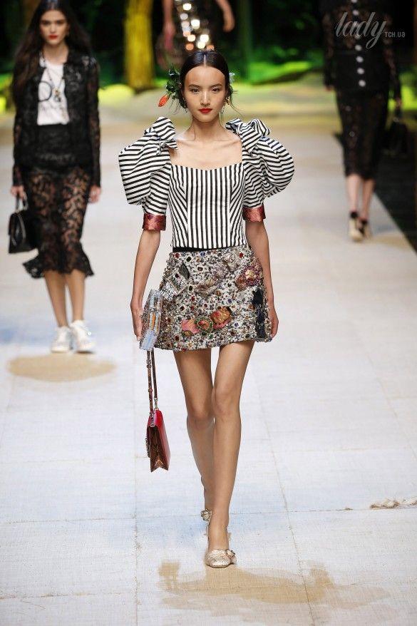 Коллекция Dolce&Gabbana  прет-а-порте сезона весна-лето 2017_41
