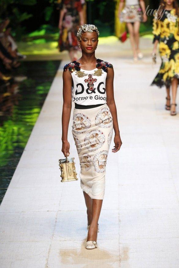 Коллекция Dolce&Gabbana  прет-а-порте сезона весна-лето 2017_39