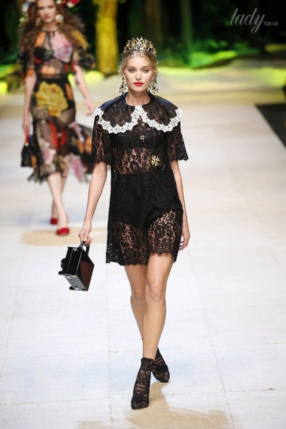 Коллекция Dolce&Gabbana  прет-а-порте сезона весна-лето 2017_35
