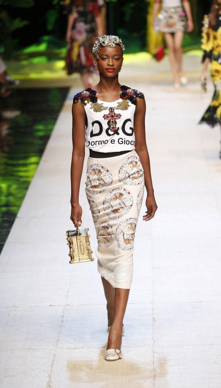 Коллекция Dolce&Gabbana прет-а-порте сезона весна-лето 2017 @ East News