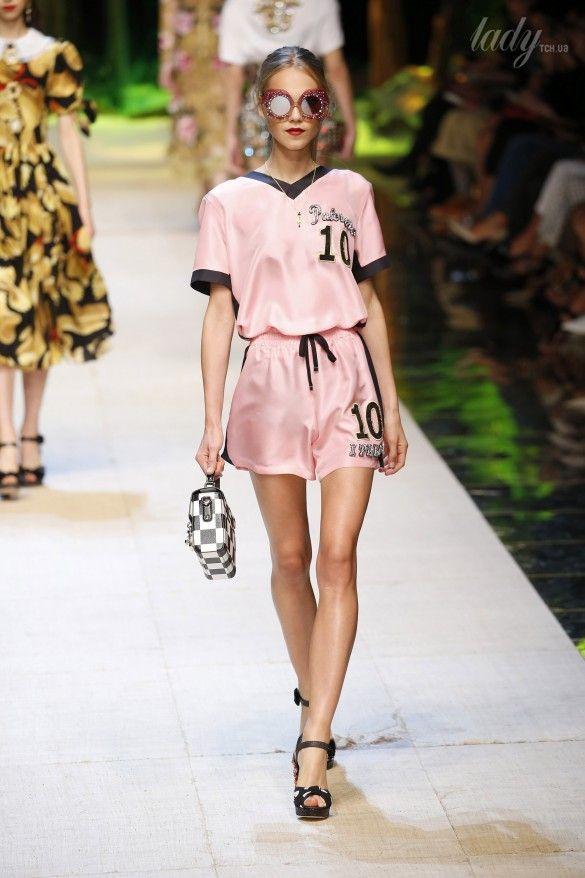 Коллекция Dolce&Gabbana  прет-а-порте сезона весна-лето 2017_64