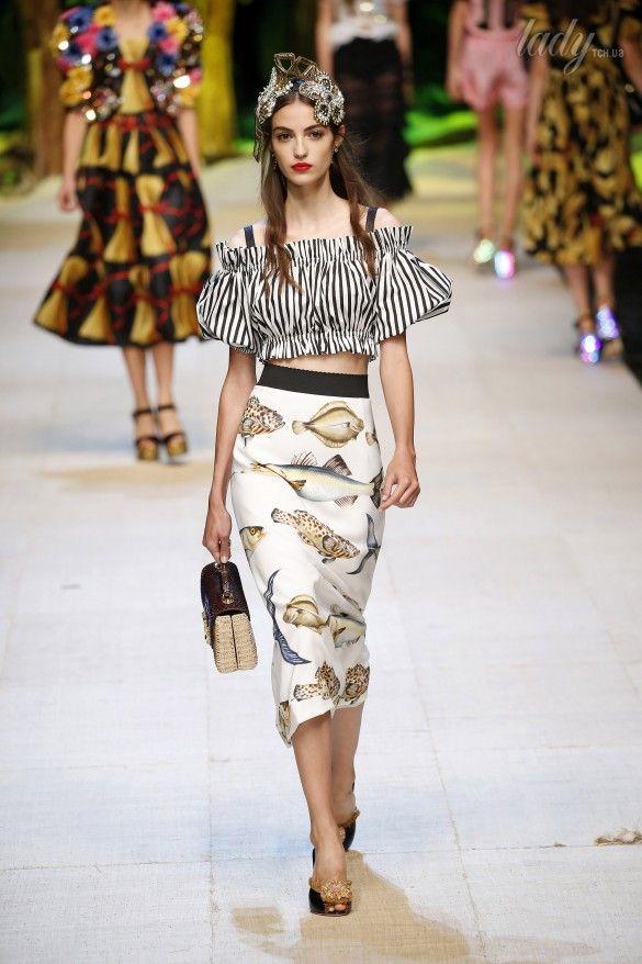 Коллекция Dolce&Gabbana  прет-а-порте сезона весна-лето 2017_68