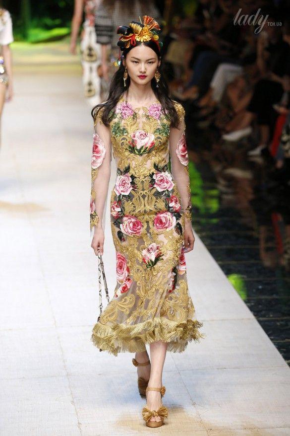 Коллекция Dolce&Gabbana  прет-а-порте сезона весна-лето 2017_61