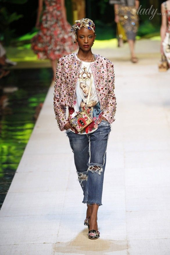 Коллекция Dolce&Gabbana  прет-а-порте сезона весна-лето 2017_57