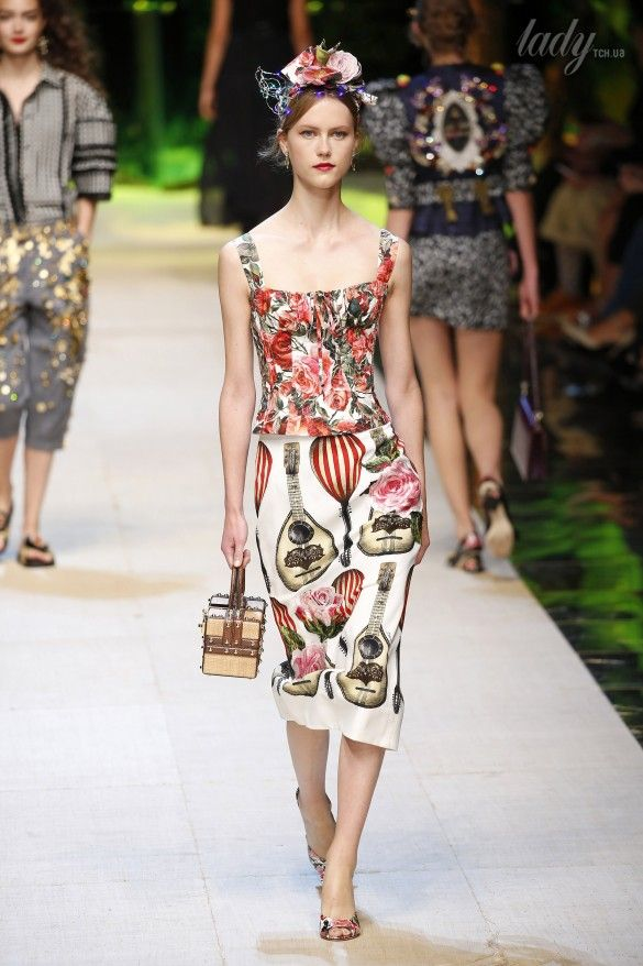 Коллекция Dolce&Gabbana  прет-а-порте сезона весна-лето 2017_58