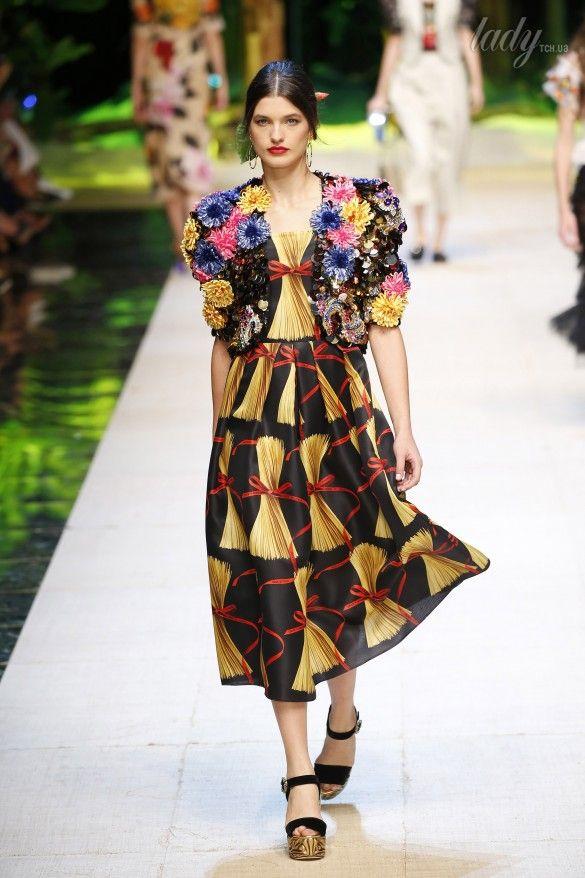 Коллекция Dolce&Gabbana  прет-а-порте сезона весна-лето 2017_69