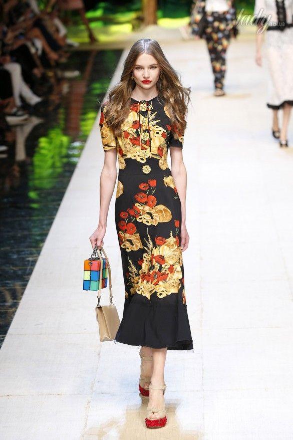 Коллекция Dolce&Gabbana  прет-а-порте сезона весна-лето 2017_75