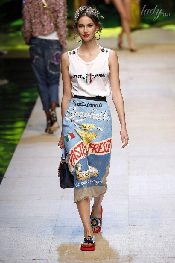 Коллекция Dolce&Gabbana  прет-а-порте сезона весна-лето 2017_60
