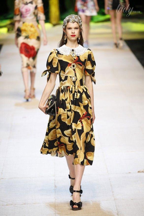 Коллекция Dolce&Gabbana  прет-а-порте сезона весна-лето 2017_65