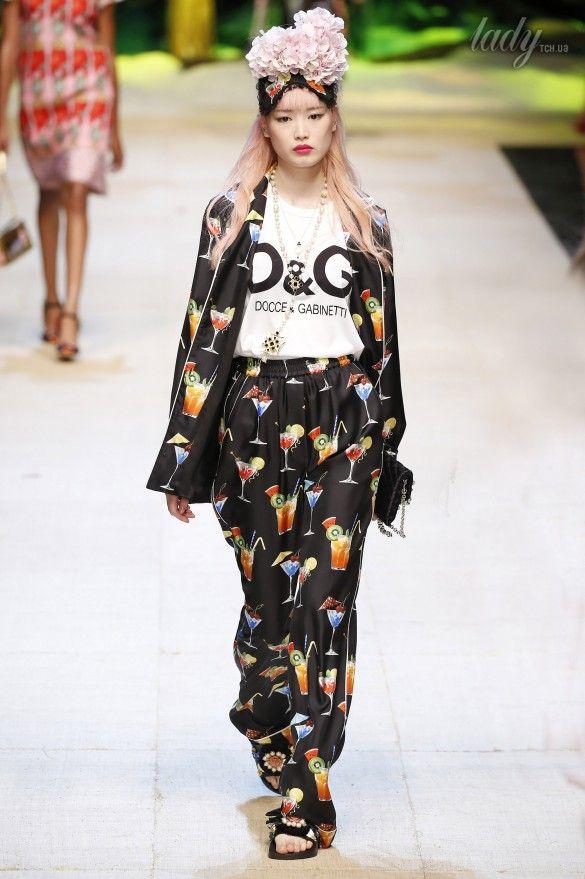 Коллекция Dolce&Gabbana  прет-а-порте сезона весна-лето 2017_77