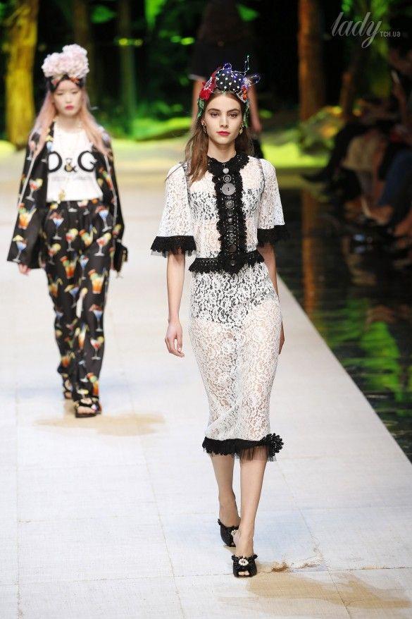 Коллекция Dolce&Gabbana  прет-а-порте сезона весна-лето 2017_76
