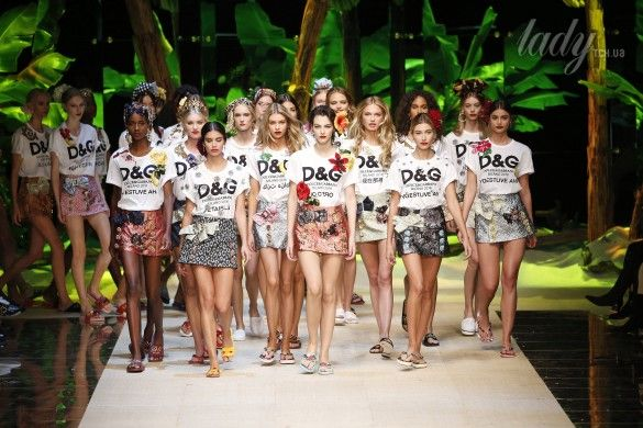 Коллекция Dolce&Gabbana  прет-а-порте сезона весна-лето 2017_92