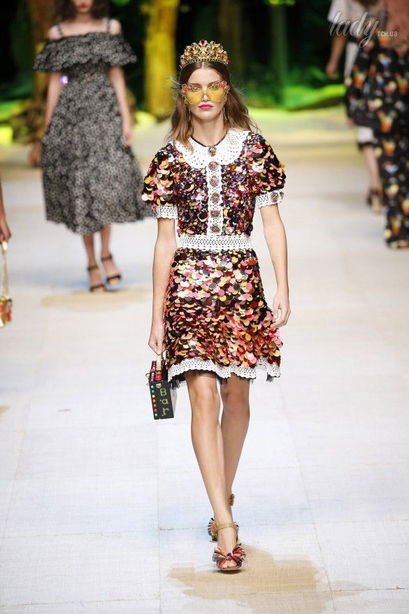 Коллекция Dolce&Gabbana  прет-а-порте сезона весна-лето 2017_80