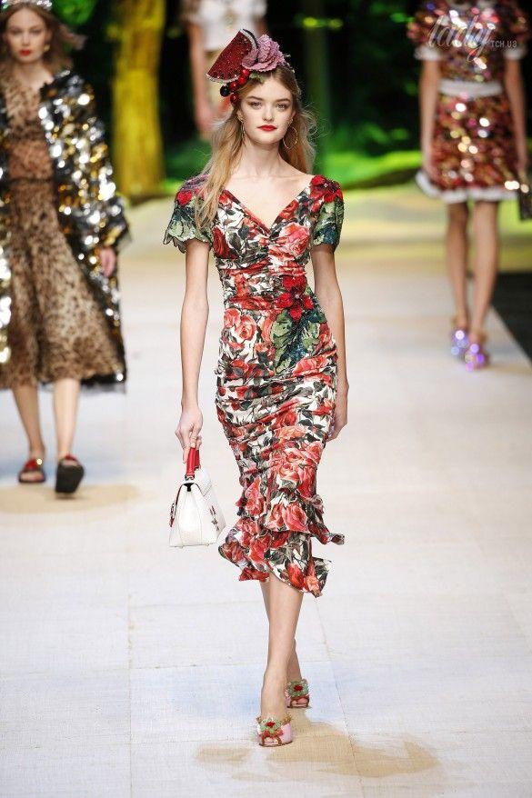 Коллекция Dolce&Gabbana  прет-а-порте сезона весна-лето 2017_83