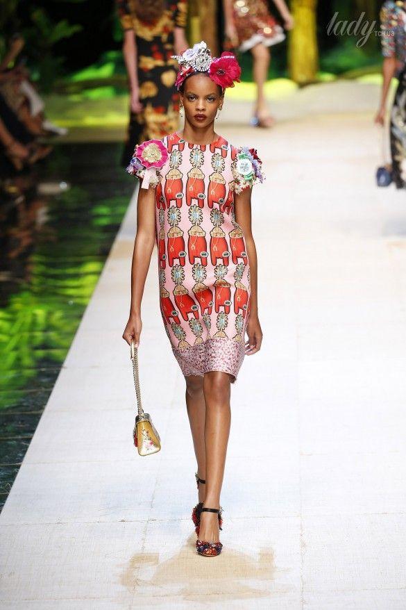 Коллекция Dolce&Gabbana  прет-а-порте сезона весна-лето 2017_78
