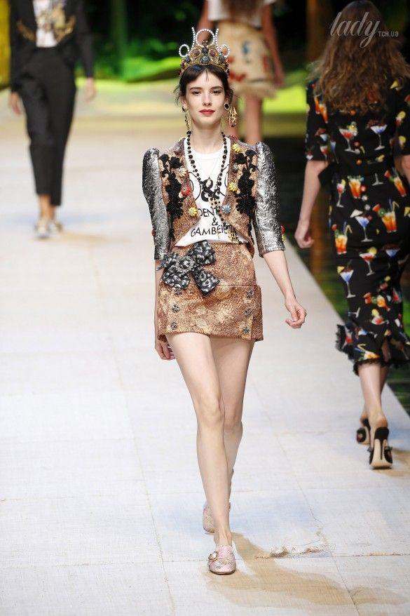Коллекция Dolce&Gabbana  прет-а-порте сезона весна-лето 2017_88