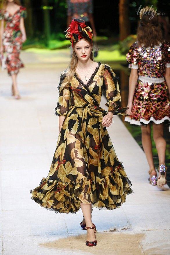 Коллекция Dolce&Gabbana  прет-а-порте сезона весна-лето 2017_82