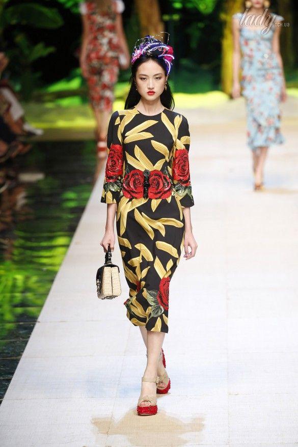 Коллекция Dolce&Gabbana  прет-а-порте сезона весна-лето 2017_90
