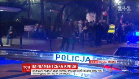 Протесты в Польше: президент Анджей Дуда подписал закон о снижении пенсионного возраста