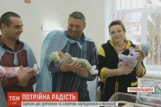 Трійня просто на день святого Миколая народилася на Тернопільщині