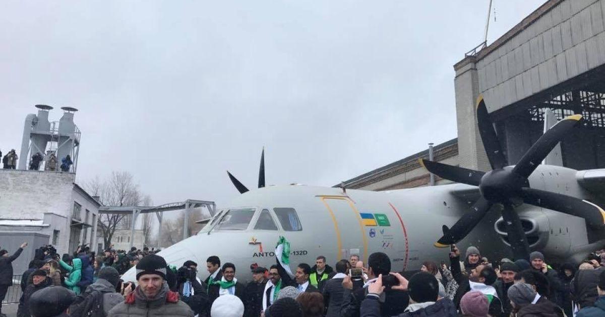 Презентація літака Ан-132D @ facebook/Антонов