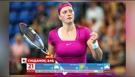 Видео - Украинская теннисистка Цуренко выполнила необычное задание с ... 33e5b3459fe8e