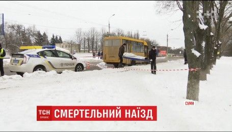 У Сумах под колесами маршрутки погиб пенсионер