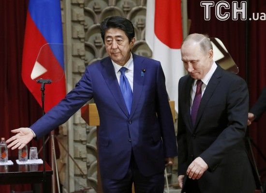"""В Японії заявили про """"не нормальні"""" відносини з РФ та поки не укладатимуть мирний договір"""