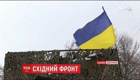 Боевики несколько раз пытались захватить украинские позиции в районе Светлодарской дуги