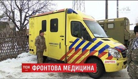 Фронтова медицина: волонтери заявляють про брак транспорту