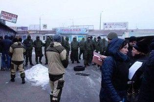В полиции назвали количество пострадавших во время масштабных столкновений на рынке в Киеве