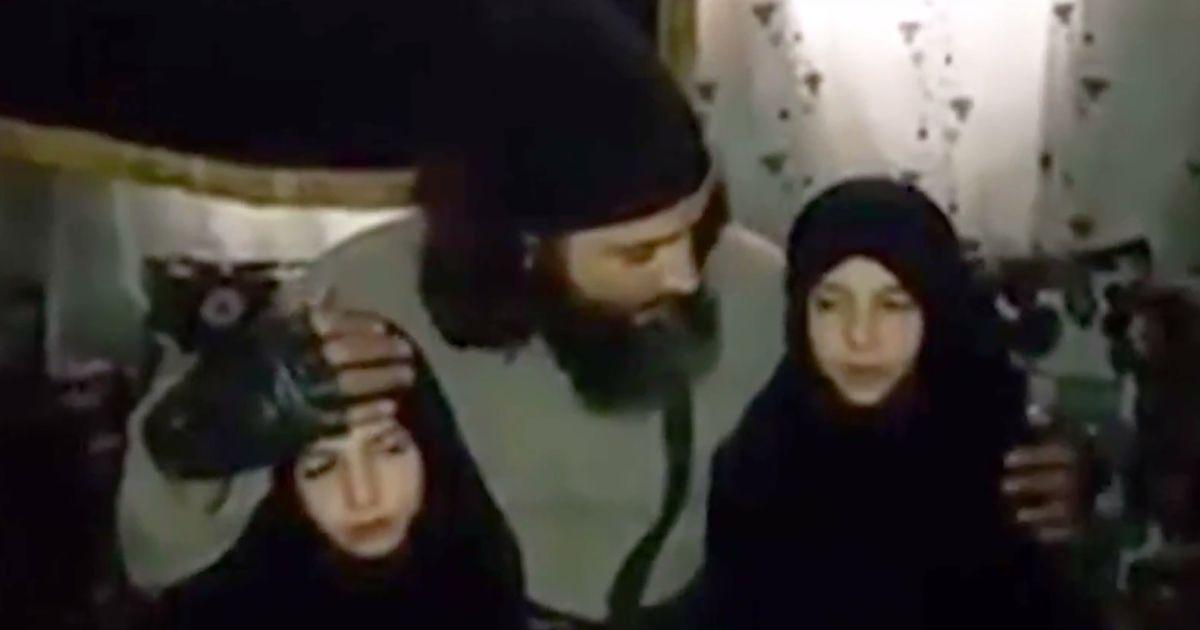 Сирийский боевик послал малолетних дочерей на самоубийственную миссию ради джихада