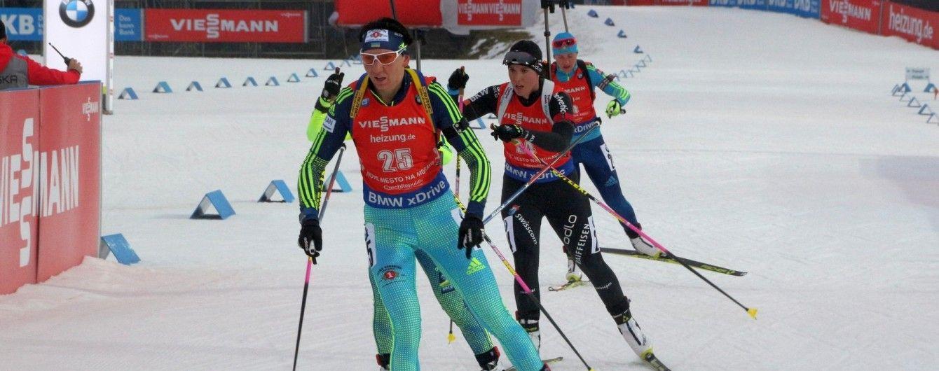 Українські біатлоністи провалили Різдвяну гонку