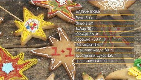 Праздничные медово-имбирные пряники - рецепты Сеничкина