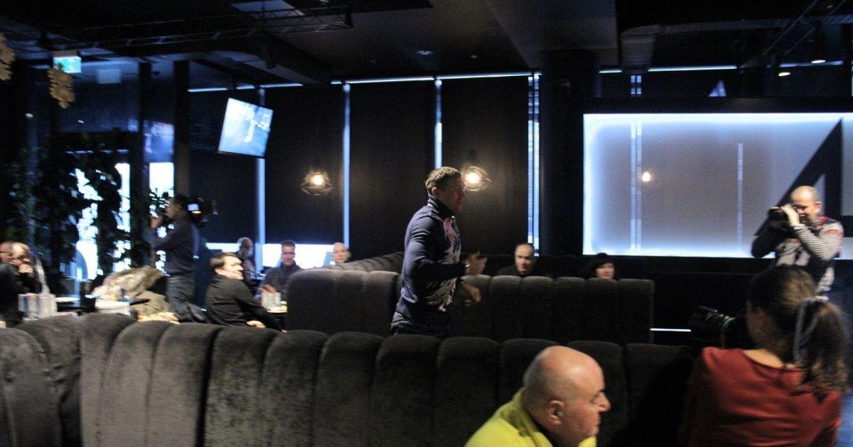 В столице состоялась презентация документального фильма про боксеров-чемпионов Василия Ломаченко и Александра Усика. Фото - ТСН. Проспорт
