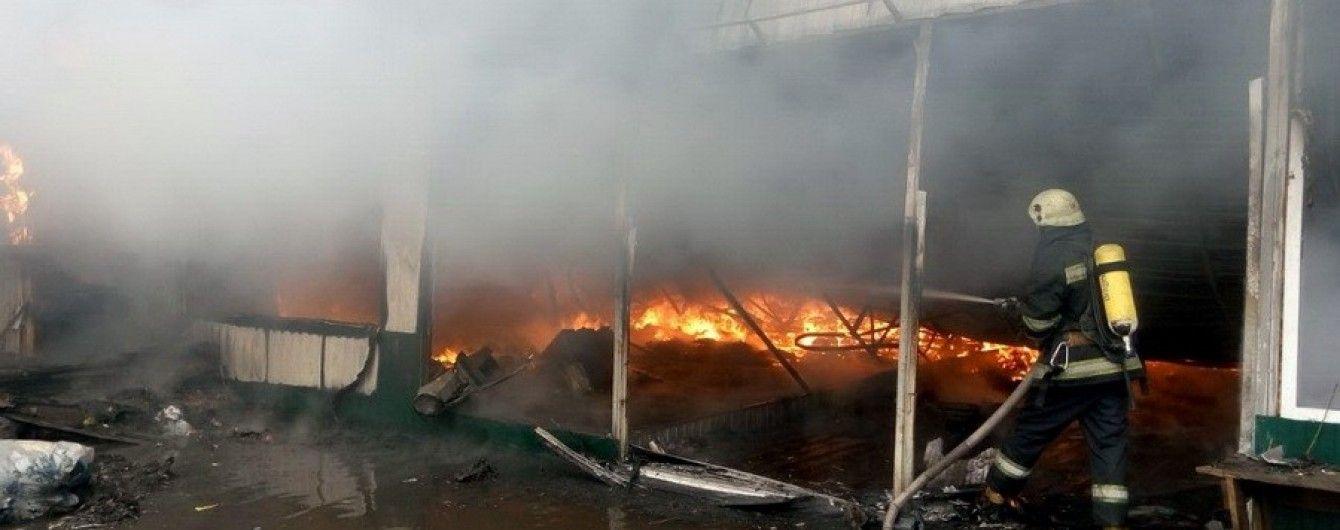 Встановлено особу людини, яка загинула в пожежі на київському ринку