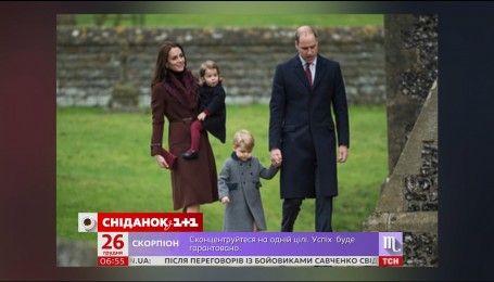 Королевская семья посетила Рождественское богослужение