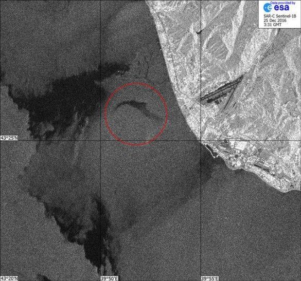 знімок авіакатастрофи ту 154
