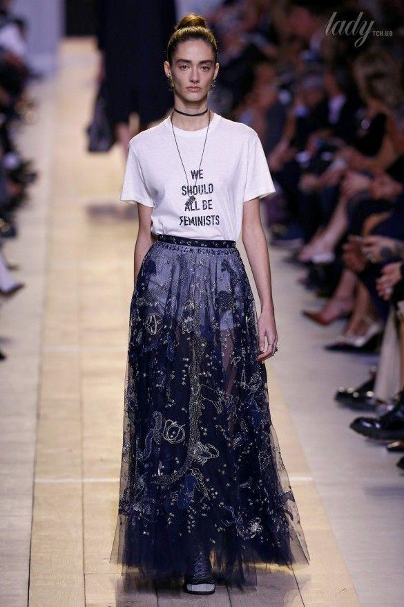 Коллекция Christian Dior прет-а-порте сезона весна-лето 2017_18