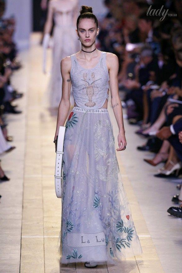 Коллекция Christian Dior прет-а-порте сезона весна-лето 2017_61