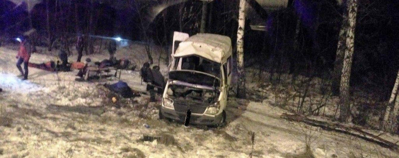 Смертельна ДТП на Житомирщині: маршрутка з туристами, які поверталися з Буковелю, вилетіла з дороги