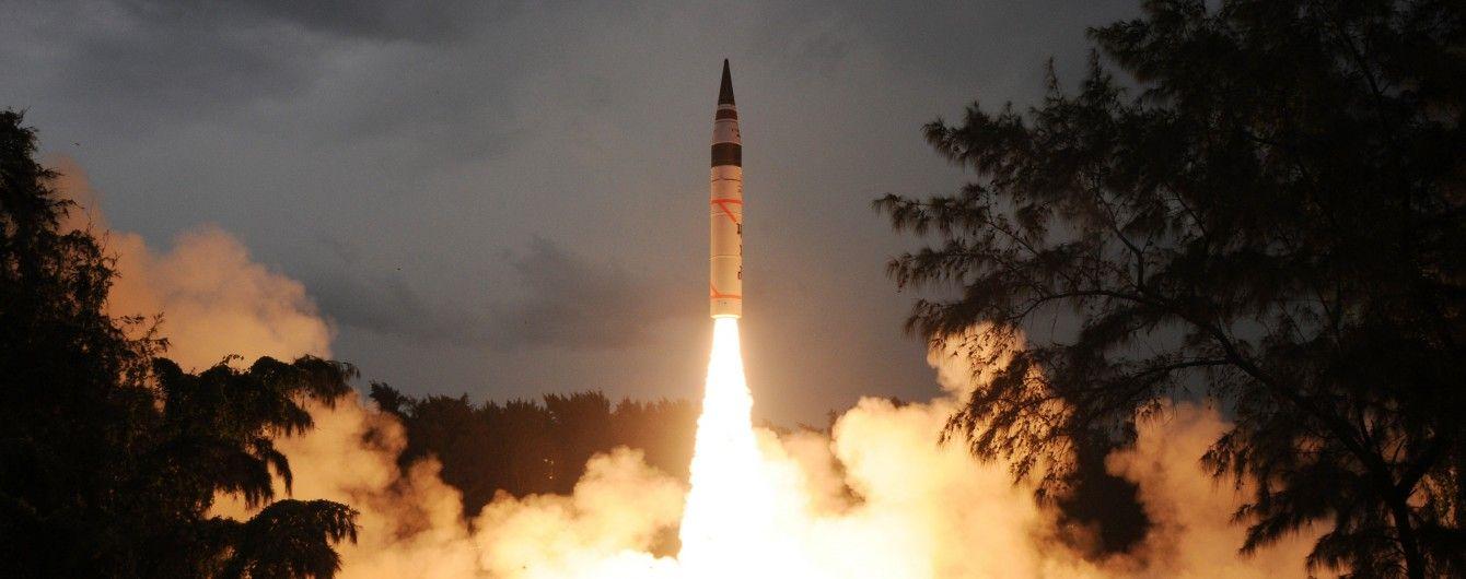 Індія успішно випробувала свою найпотужнішу міжконтинентальну балістичну ракету