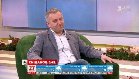 """До студії """"Сніданку"""" завітав художній керівник Національного хору ім. Григорія Верьовки"""