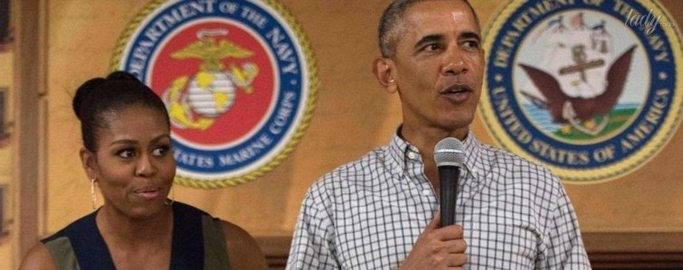 В простом сарафане и без каблуков: негламурный образ Мишель Обамы